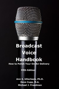 Book Cover for Broadcast Voice Handbook
