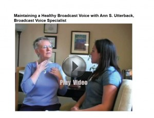 Link image for video Maintaining Healthy Broadcast Voice